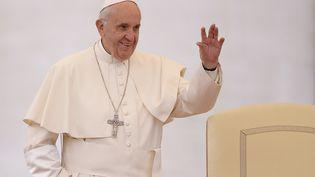 Le Pape François, le 8 octobre 2016. (FILIPPO MONTEFORTE / AFP)