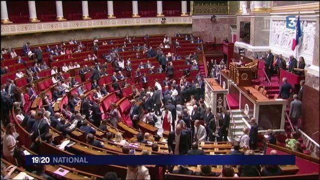 Tempête à l'Assemblée nationale