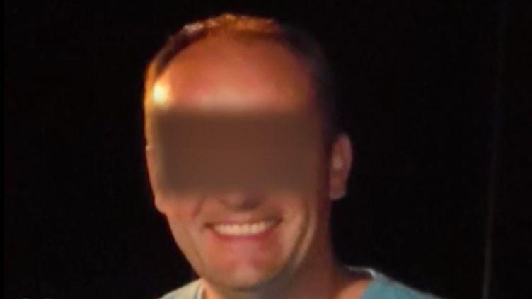 Photo non datée de David Ramault, l'homme qui a avoué avoir tué Angélique, 13 ans, retrouvée morte le 29 avril 2018 à Quesnoy-sur-Deûle (Nord). (FRANCE 2)