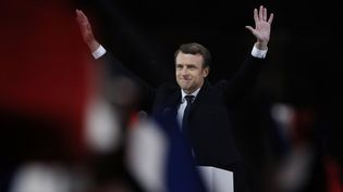 Emmanuel Macron sera investi président de la République dimanche (PATRICK KOVARIK / AFP)