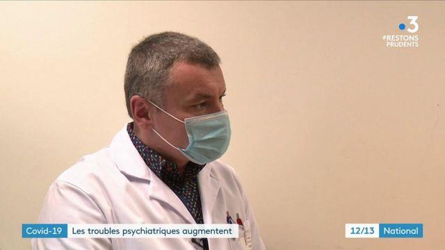Coronavirus : hausse des troubles psychiatriques