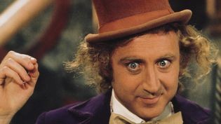 "L'acteur américain Gene Wilder incarneWilly Wonka dans le film ""Charlie et la chocolaterie"" (1971). (KOBAL / AFP)"