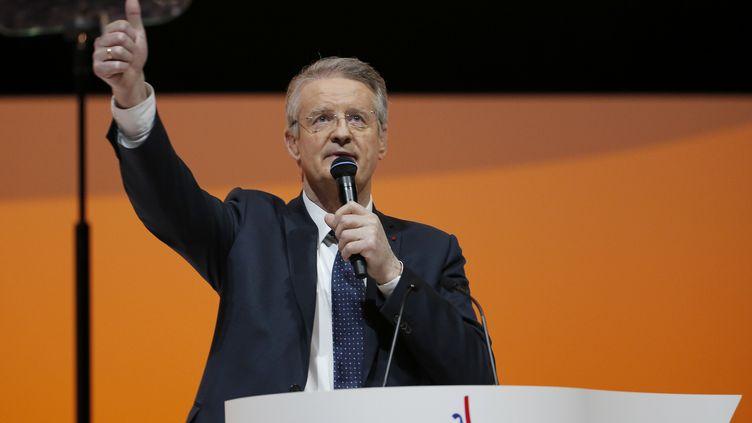 Bernard Lapasset.  (FRANCOIS GUILLOT / AFP)