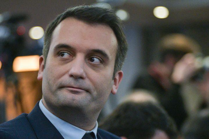 Le vice-président du FN, Florian Philippot, le 2 décembre 2016, à Paris. (CITIZENSIDE/YANN KORBI /AFP)
