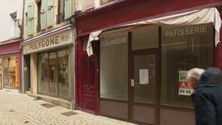 Une rue du centre-ville de Mende, en Lozère. (France 3)
