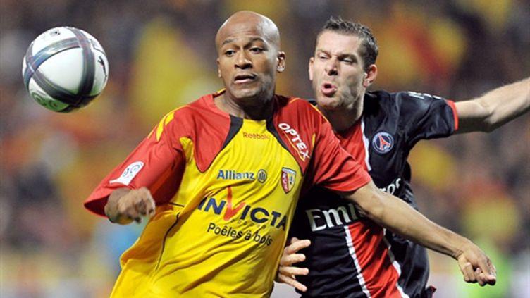 Sylvain Armand (PSG) aux côtés de Toifilou Maoulida (Lens)