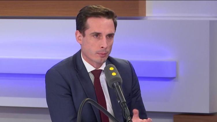 Le secrétaired'État aux Transports Jean-BaptisteDjebbari. (FRANCEINFO / RADIOFRANCE)