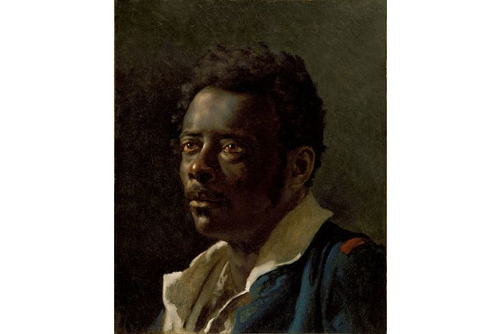 """Théodore Géricault, """"Etude d'homme, d'après le modèle Joseph"""", vers 1818-1819,Los Angeles, J. Paul Getty Museum  (Photo Courtesy The J. Paul Getty Museum, Los Angeles)"""
