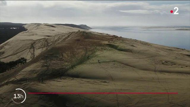 Gironde : la dune du Pilat attire les vacanciers