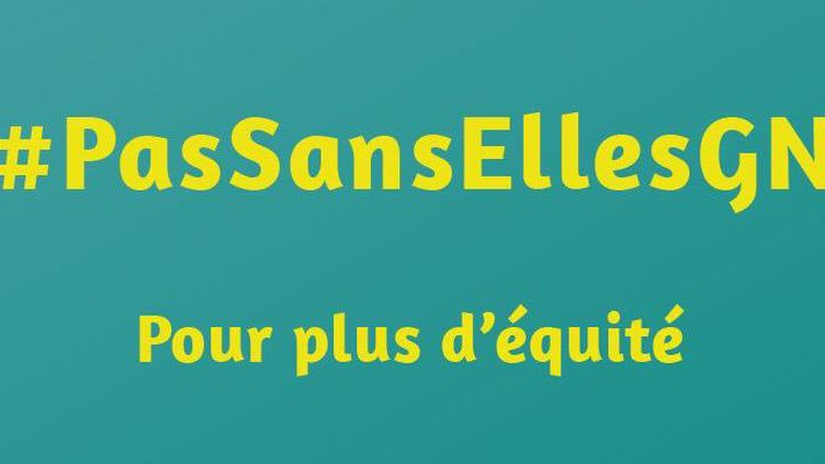 Le slogan du collectif féministe guinéen qui se propage sur les réseaux sociaux (Capture d'écran )
