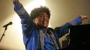 Little Richard lors d'un concert à Bobital (Côtes-d'Armor), le 8 juillet 2006. (ANDRE DURAND / AFP)