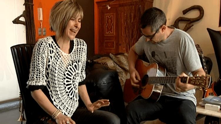 Véronique Gayot en répétition avec Jean-Michel Wassmer  (France3/culturebox)