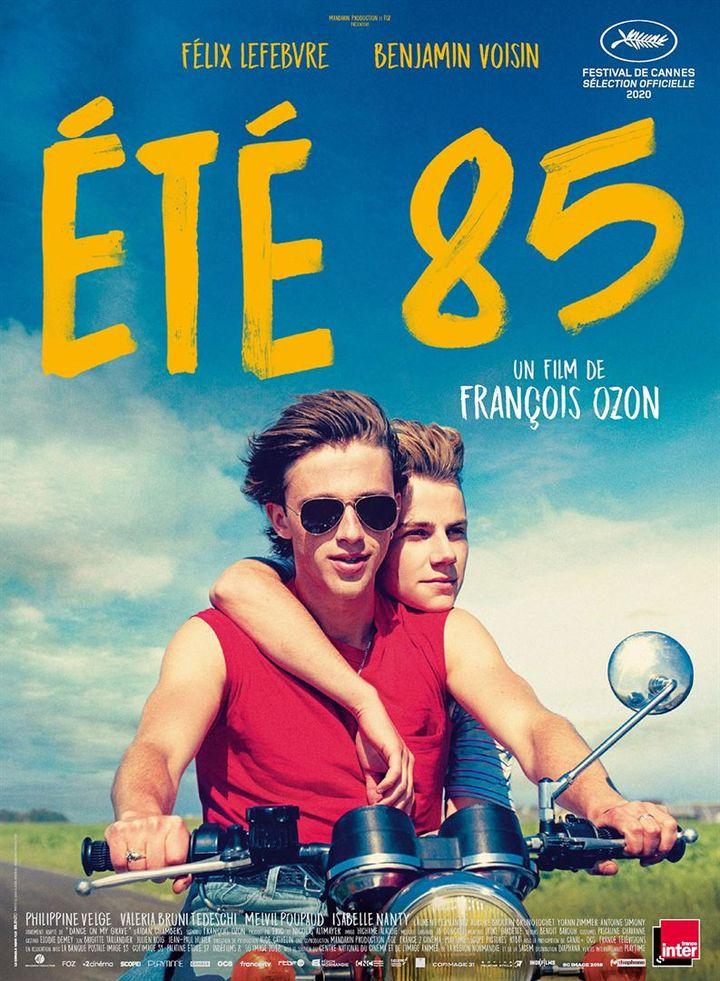 """L'affiche de """"Eté 85"""" de François Ozon. (Diaphana Distribution)"""