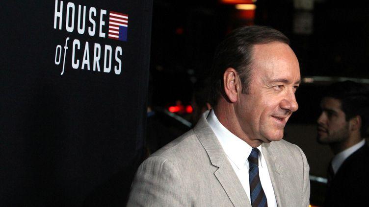 (Netflix a notamment produit la série House of Cards, avec Kevin Spacey. © MaxPPP)