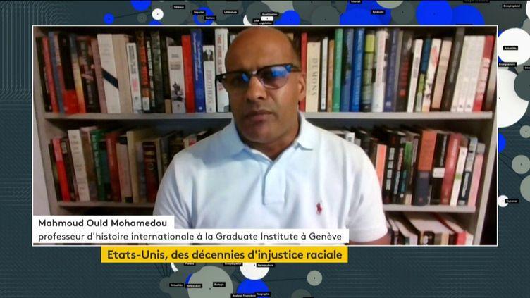 MohamedMahmoud Ould Mohamedou (FRANCEINFO)