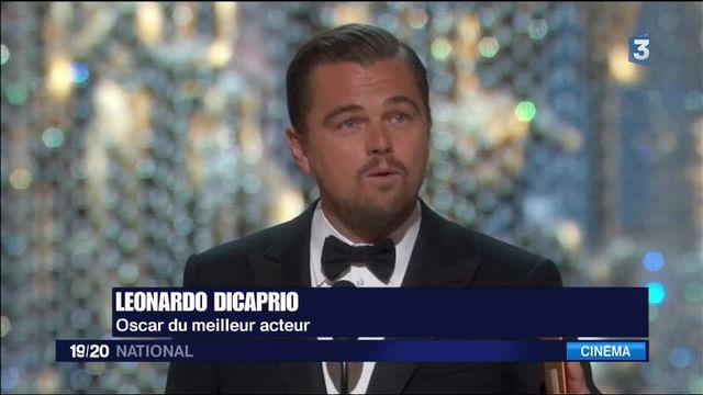 Oscars : à 41 ans, Leornado DiCaprio a enfin reçu sa première statuette