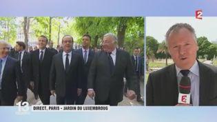 Passation de pouvoir: les recommandations d'Hollande à Macron (FRANCEINFO)