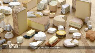 Un plateau de fromages (photo d'illustration). (CAPTURE ECRAN FRANCE 2)