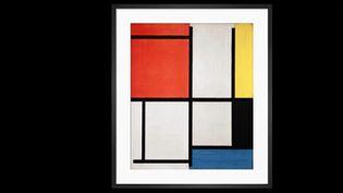 Le célèbre peintre Piet Mondrian a déconstruit l'art figuratif pour inventer un langage graphique reconnaissable. (CAPTURE ECRAN FRANCE 2)