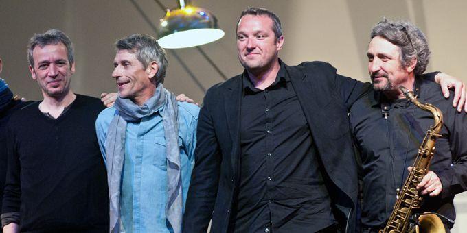 Laurent de Wilde, Jacques Gamblin, Alex Tassel et Guillaume Naturel  (Paul Charbit)