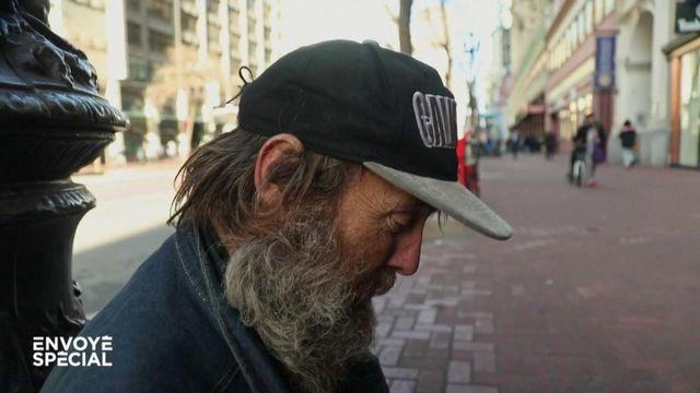 """Envoyé spécial. """"Miracle Messages"""", des messages vidéo pour changer la vie des sans-abris de San Francisco"""