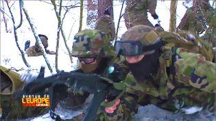 Soldats polonais  (CAPTURE D'ÉCRAN FRANCE 3)