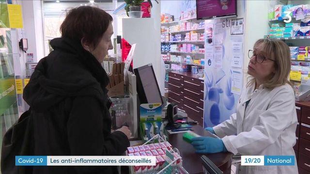 Coronavirus : les anti-inflammatoires déconseillés