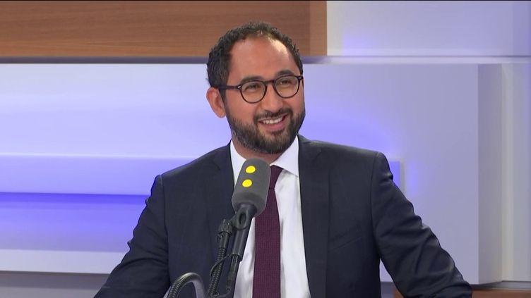Le député LREM des Deux-Sèvres Guillaume Chiche. (FRANCEINFO / RADIO FRANCE)