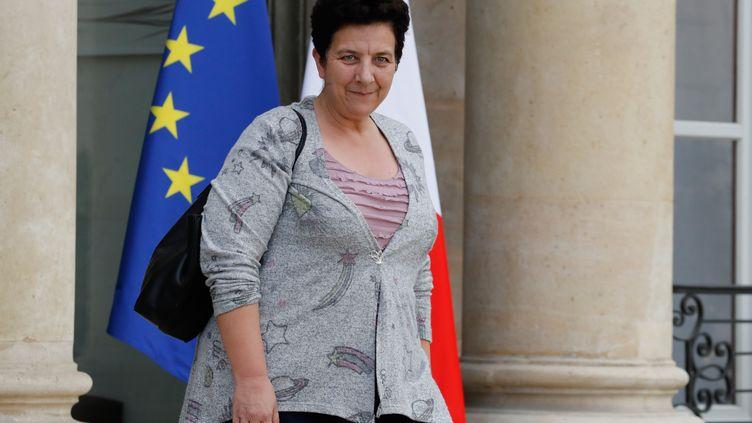 La ministre de l'Enseignement supérieur, Frédérique Vidal, le 25 octobre 2017. (PATRICK KOVARIK / AFP)