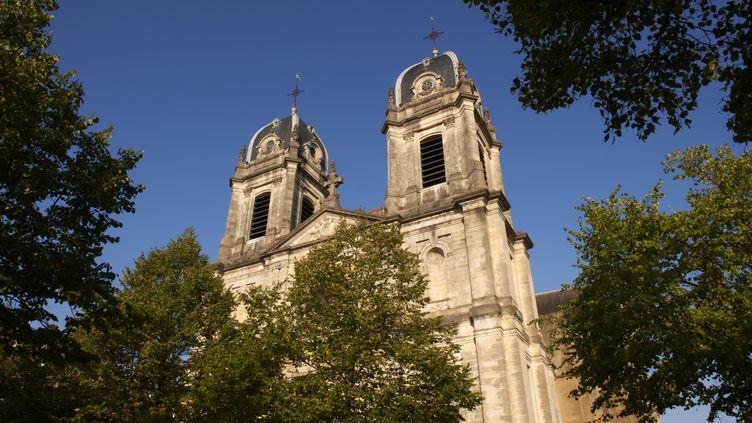 La cathédrale Notre-Dame, à Dax (Landes), le 21 septembre 2010. (FELIX ALAIN / HEMIS.FR / AFP)