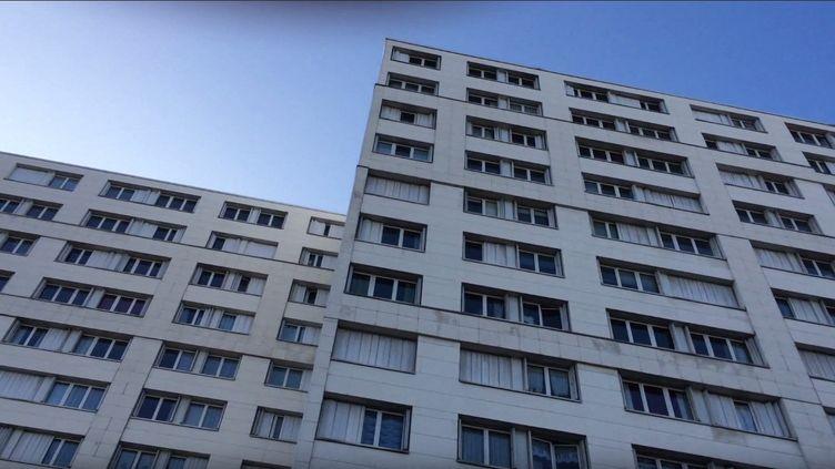 Immeuble de logements sociaux de la Ville de Paris. Photo prise le 20 janvier 2016 (SYLVAIN TRONCHET / RADIO FRANCE)