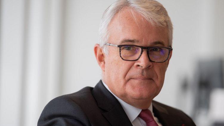 Le procureur national financier Jean-François Bohnertà Paris le 17 octobre 2019. (ERIC FEFERBERG / AFP)