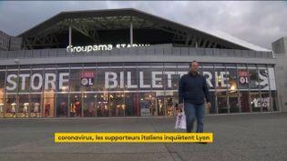 Vue du Groupama Stadium de l'OL (FRANCEINFO)