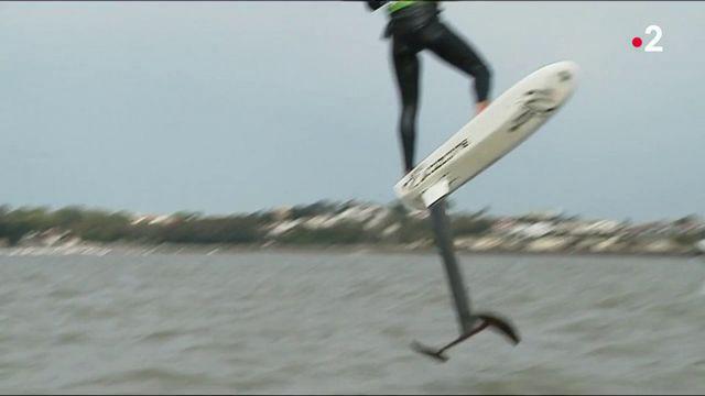 Foil : voler sur l'eau