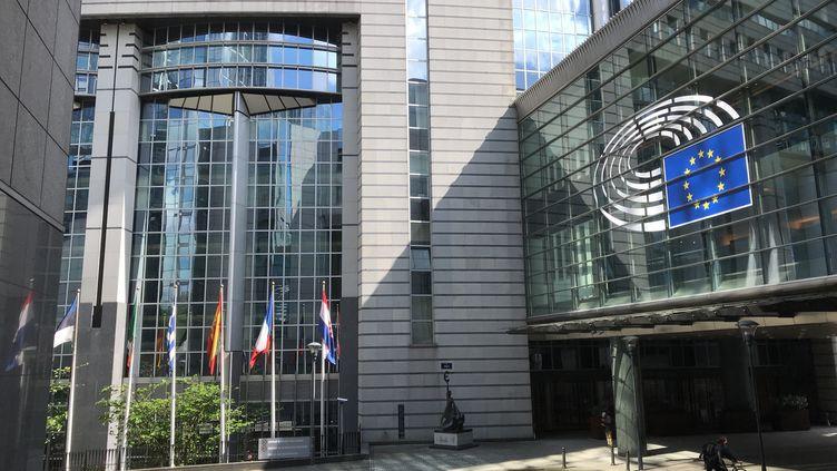 Vue du Parlement européen à Bruxelles. (NOÉMIE BONNIN / RADIOFRANCE)