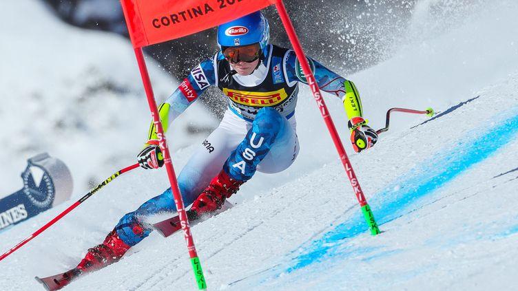 Mikaela Shiffrin remporte le combiné des championnats du monde, lundi 15 février 2021. (SERGIO BISI / LIVEMEDIA)
