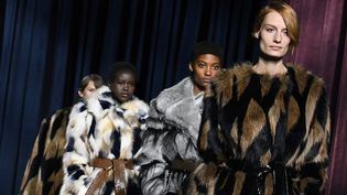 Givenchy ah 2018-19, mars 2018 à Paris  (ALAIN JOCARD / AFP)