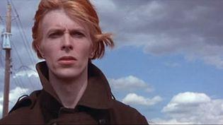 """David Bowie dans 'L'homme qui venait d'ailleurs"""" de Nicolas Roeg.  (saisie écran bande annonce)"""