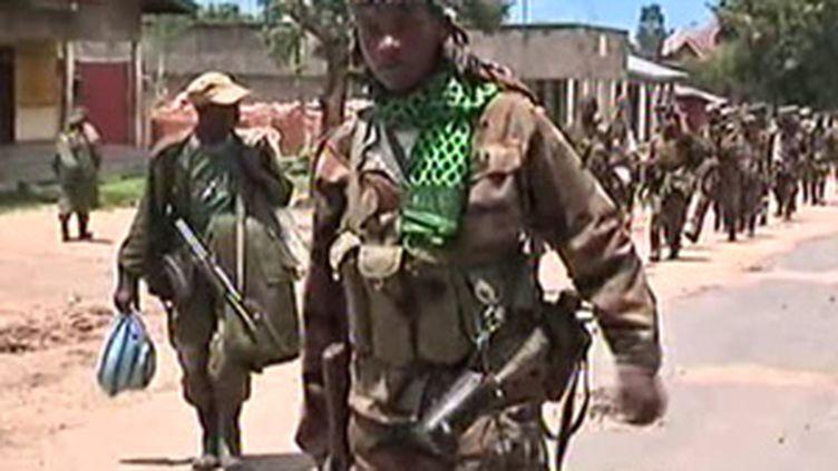 Militaires de la République démocratique du Congo (© France 3)