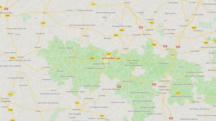Le cadavre de la femme de 67 ans a été retrouvé à son domicile de La Ferté-Macé, dans l'Orne. (CAPTURE D'ECRAN GOOGLE MAPS)