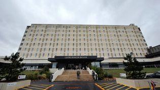 Le centre anti-cancerFrançois Baclesse à Caen, dans le Calvados. (MYCHELE DANIAU / AFP)