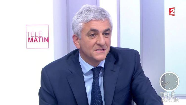 Le président de la région Normandie, Hervé Morin, le 28 janvier 2016. (FRANCE 2)