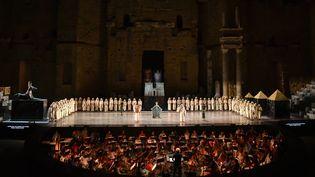 """Aida"" de Giuseppe Verdi aux Chorégies d'Orange (3 juillet 2016)  (Bertrand Langlois / AFP)"