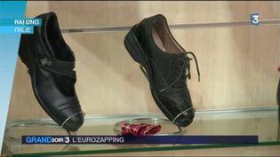 Le pape François est allé s'acheter lui-même des chaussures orthopédiques à Rome (FRANCE 3)