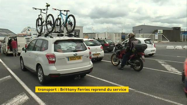 Vue des Régions : reprise Brittany Ferries