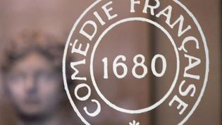 Le logo de la Comédie française.  (Jean-Loup Gautreau /AFP)
