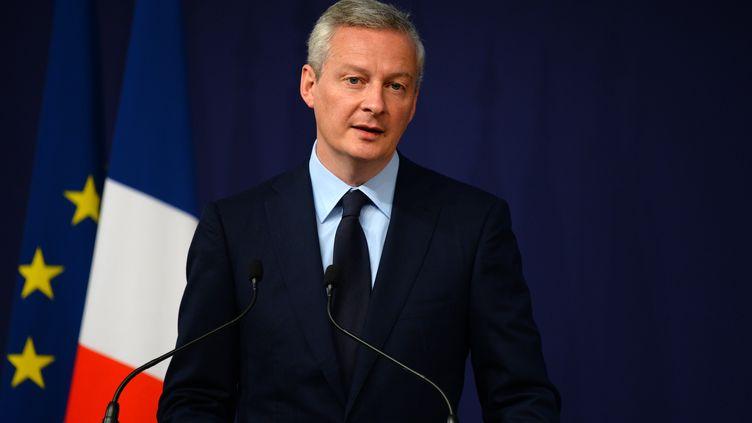 Le ministre de l'Economie Bruno Le Maire, à Paris, le 9 juin 2017. (ERIC PIERMONT / AFP)