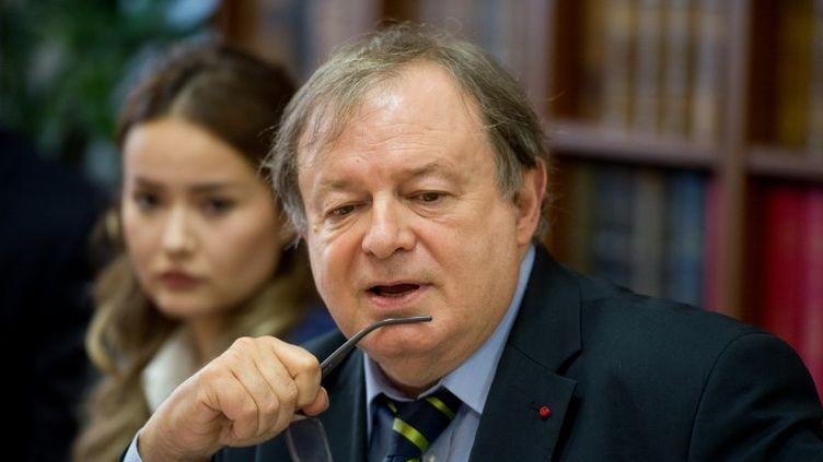 Jean-Pierre Mignard, l'un des premiers signataires de l'appel lancé dans Témoignage Chrétien. (ALAIN JOCARD / AFP)