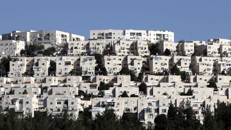 La colonie israélienne deRamat Shlomo à Jérusalem-Est, le 18 décembre 2012. (AHMAD GHARABLI / AFP)