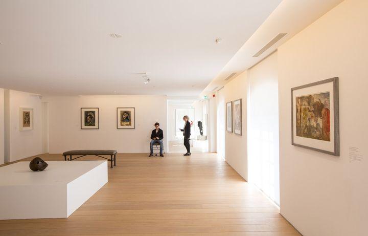 Une salle du musée Picasso rénové  (Romuald Meigneux / SIPA)